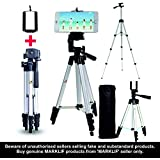 Marklif 3110 40.2 inch Portable Camera Tripod with 3Dimensional Head & Quick Release Plate for Canon Nikon Sony Cameras Camcorders