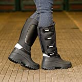 Ladies Mens Country Horse Riding Well Yard Stable Fleece Lined Long Mucker Boots