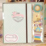 Best Scrapbook Kit - GOLD LEAF DIY Scrapbook Album Craft Paper Family Review