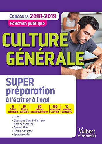 Culture générale : Concours Fonction publique