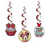 3x Hängende Decken-Deko * MINNIE MOUSE & DAISY * für Kindergeburtstag // Kinder Geburtstag Party Deko Hanging Cutouts Minni Maus
