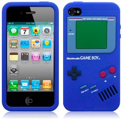 Nintendo Gameboy iPhone 5/5S case with extras