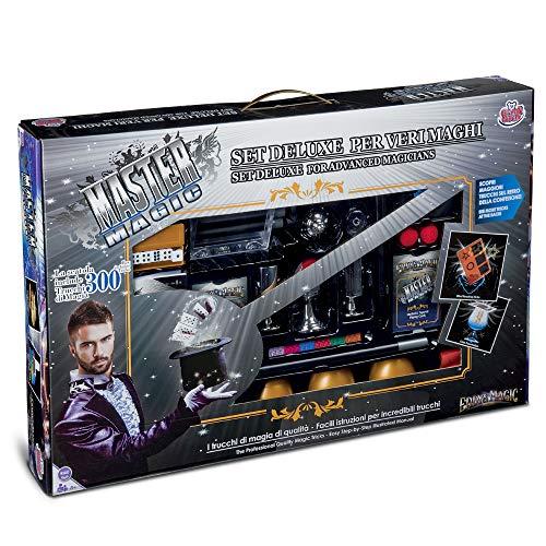 Grandi giochi- kit magia 300 trucchi, multicolore, gg-00297