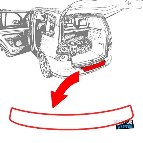 Octavia 3 Kombi Einstiegsleisten Set mit Ladekantenschutz mit RAKEL in 3D Carbon Schwarz Schutzfolie von WIZUALS Ersatz-, Tuning- & Verschleißteile