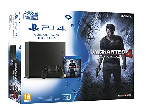 PS4 1TB + UNCHARTED 4