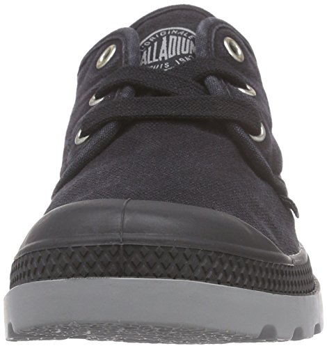 Palladium Damen Pampa Oxford LP Sneaker Schwarz (Black/Wild Dove)