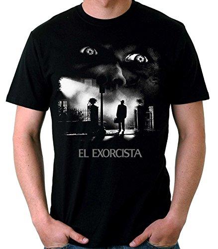 35mm – Camiseta Hombre El Exorcista-The Exorcist Terror Movie