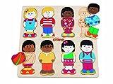 """Tidlo - Puzzle in legno """"Little Friends"""""""
