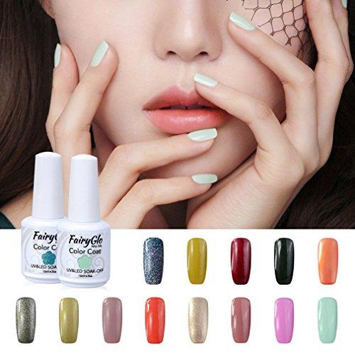 fairyglo-uv-nagellack-nail-gel-polish-nagelgel-pure-farbe-6xstucke-farbklack-1xstucke-uberlack-1xstu