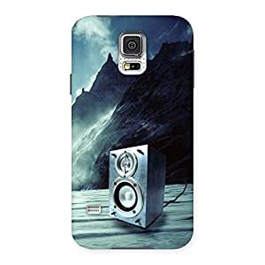 Enticing Speaker Of Snow Back Case Cover for Samsung Galaxy S5