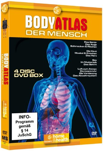 Bodyatlas Box (4 DVDs)