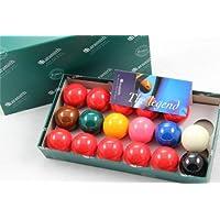 Aramith 2 (50.8mm) Premier Snooker Balls - 10 Red - 17 Balls by Aramith