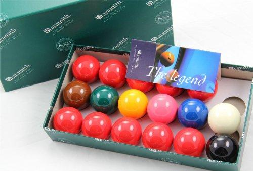 Aramith Snookerkugel-Set, 51mm, 17 Kugeln