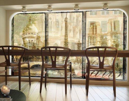 Preisvergleich Produktbild XXL FensterBild Paris - Mon Amour