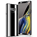 Samsung Galaxy Note 9 Hülle, 3 in 1 Ultra Dünner Glatt Hard PC Oberfläche 360 Komplett Anti-Kratzer Bumper Cover für Samsung Galaxy Note 9 (Note 9, Black)