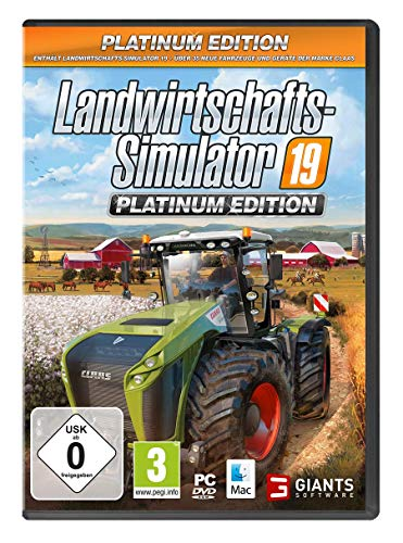 Landwirtschafts-Simulator 19: Platinum Edition (PC) - Platinum [