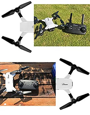 The perseids 2MP 120° Wide Angle Selfie Drones 2.4G Foldable RC Quadcopter Wifi FPV Drone Altitude Hold 3D Flips Rolls 6-Axis Gyro Gravity Sensor RTF RC Drones