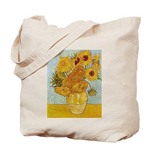 (CafePress–Van Gogh Sonnenblumen–Leinwand Natur Tasche, Reinigungstuch Einkaufstasche, canvas, khaki, M)