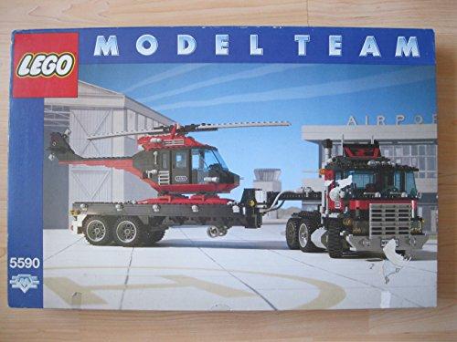 Preisvergleich Produktbild Lego Modellteam 5590 Truck mit Helikopter
