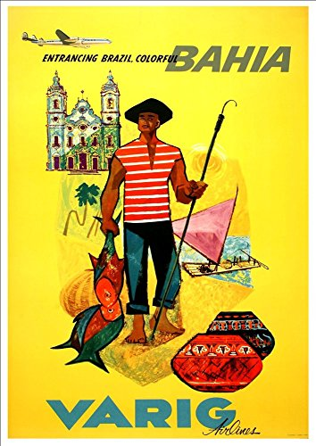 varig-airlines-bahia-wonderful-a4-glossy-art-print-taken-from-a-rare-vintage-travel-poster