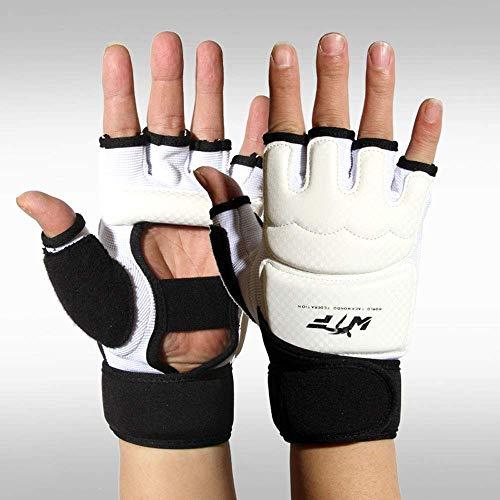 BUDBYU Boxhandschuhe Sanda Mitten Erwachsene Kinder Fighting Half Fingers Boxsandsäcke Handhandschuhe Taekwondo Gloves Boxhandschuhe mit halben Fingern Fitness-Schutz