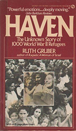 Haven by Ruth Gruber (1984-04-03)