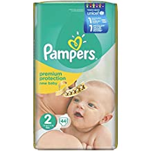 Pampers New Baby Nappies Size 2 Mini 3-6 kg Economy Pack (44)