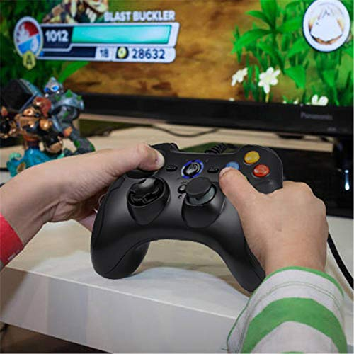 Alian EasySMX ESM-9100 gamepad wired dual shock joystick si applica a Windows/Android / PS3 / TV Box