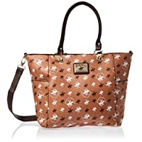 Beverly Hills Polo Club Tote Bag for Women -Brown