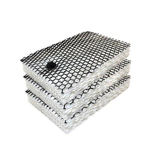 HQRP 3er Pack Filter für Bionaire Luftbefeuchter bcm655, bcm657, bcm658, bcm658C, bcm658sc Untersetzer (Bionaire Luftbefeuchter)