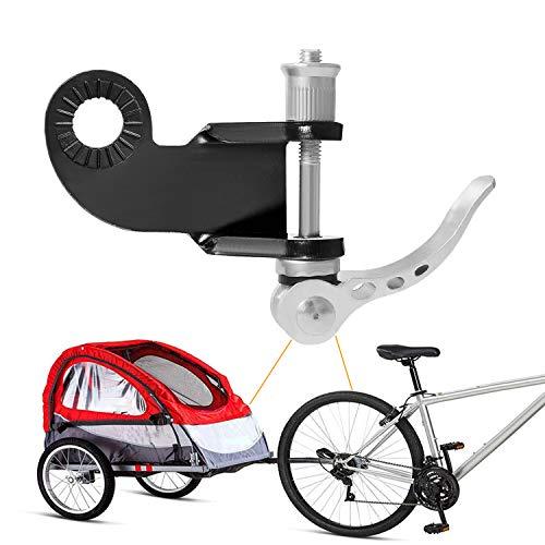CETECK Fahrradanhänger Kupplung, Kupplung für Kinderanhänger Fahrrad Anhängerkupplung für Kinderanhänger inkl, Zusätzliche Fahrrad Kupplung für Kinderanhänger 2in1 Fahrrad Kupplung für Hundeanhänger