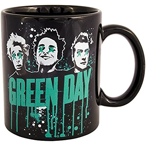 Taza de Green Day (Negro)