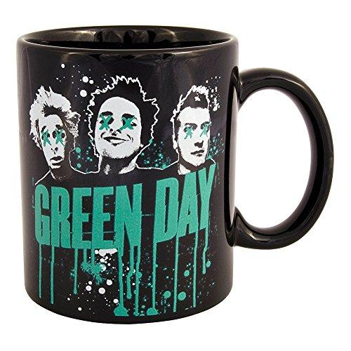 Green Day - Tazza motivo American Idiot, con scatola
