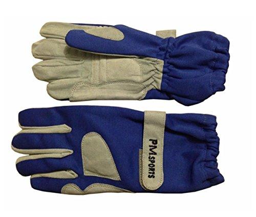 Preisvergleich Produktbild New Kart Racing Handschuhe aus OMARA und Polyester für besseren Grip alle Größen – Blau