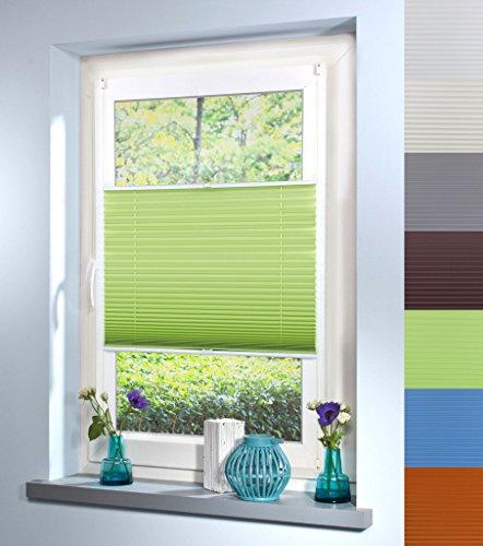 plissee-faltrollo-faltstore-klemmfix-ohne-bohren-alle-grossen-7-farben-40cm-x-130cm-light-green