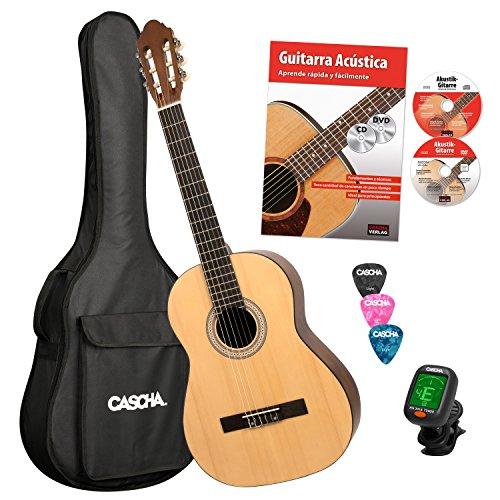 Cascha 4/4 Bundle Guitarra Clásica (HH 2043 ES)