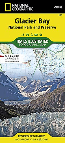Glacier Bay National Park: National Geographic Trails Illustrated Alaska (National Geographic Trails Illustrated Map, Band 255)