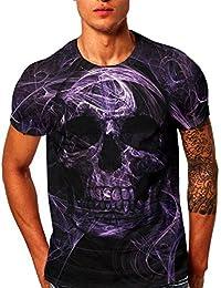 VENMO Camisetas Hombre Originales,Camisas Hombre,Tops Hombre,Blusa Hombre,Hombres Verano Camisetas de Playa,Casual…