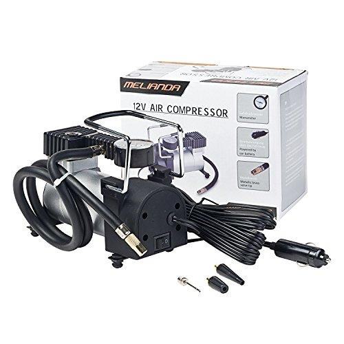 MELIANDA MA-8500 12V Auto Kompressor für den Zigarettenanzünder, mit 85W Leistung bis zu 10Bar, 30L/min - 2