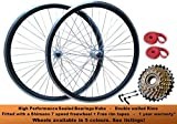 Best Bicycle Wheels - Madspeed7 700c Road Racing Bike Front Rear Wheel Review