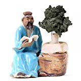 Bonsai - Figur Bonsaimeister ca. 6 cm hoch 70617