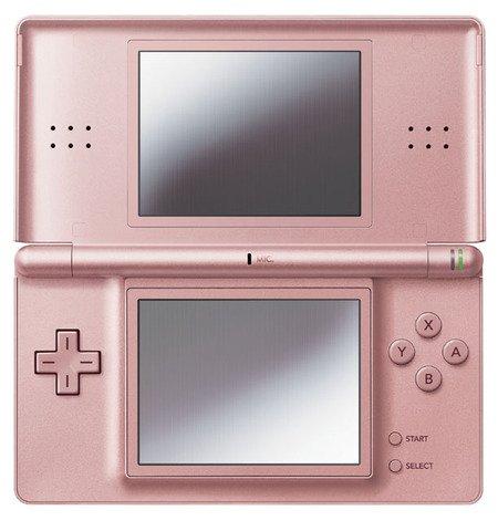 Nintendo DS Lite Konsole Metallic Rose