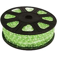 HQ de Power rll145g Luz serpiente, 45m longitud x 13mm de diámetro, Verde
