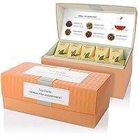 Detalles Sobre Tea Fortè Herbal Tea Assortment Box 20filtros Pirámide tisane 5sabores surtidos