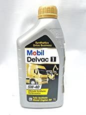 Mobil Delvac 1 5W-40 Fully Synthetic Performance Diesel Engine Oil (1 L)