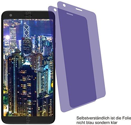 2X Crystal Clear Klar Schutzfolie für Sharp B10 Displayschutzfolie Bildschirmschutzfolie Schutzhülle Displayschutz Displayfolie Folie