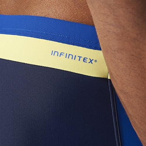 adidas Herren Badehose Boxen INFinitex Inspiration Collegiate Navy/Collegiate Royal/Frozen Yellow F15