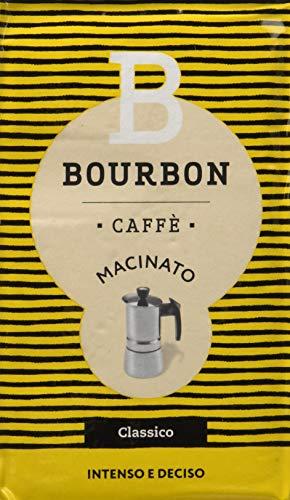 Bourbon CAFFE MACINATO - 10 Confezioni da 250 g [2.5 Kg]