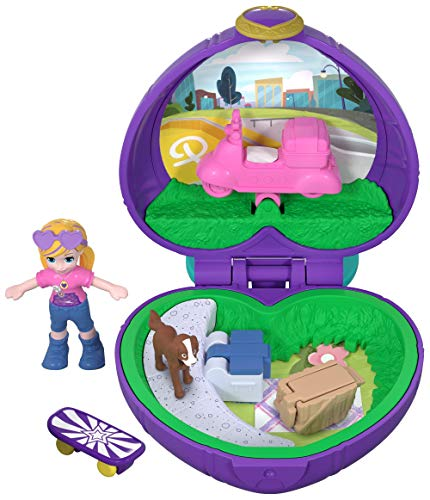 Polly Pocket FRY30 - Tiny Places Schatulle Pollys Picknick