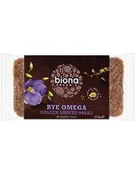 Biona Organic Rye Omega Golden Linseed Bread 500g